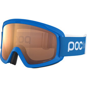 POC POCito Opsin Lunettes de protection Adolescents, fluorescent blue